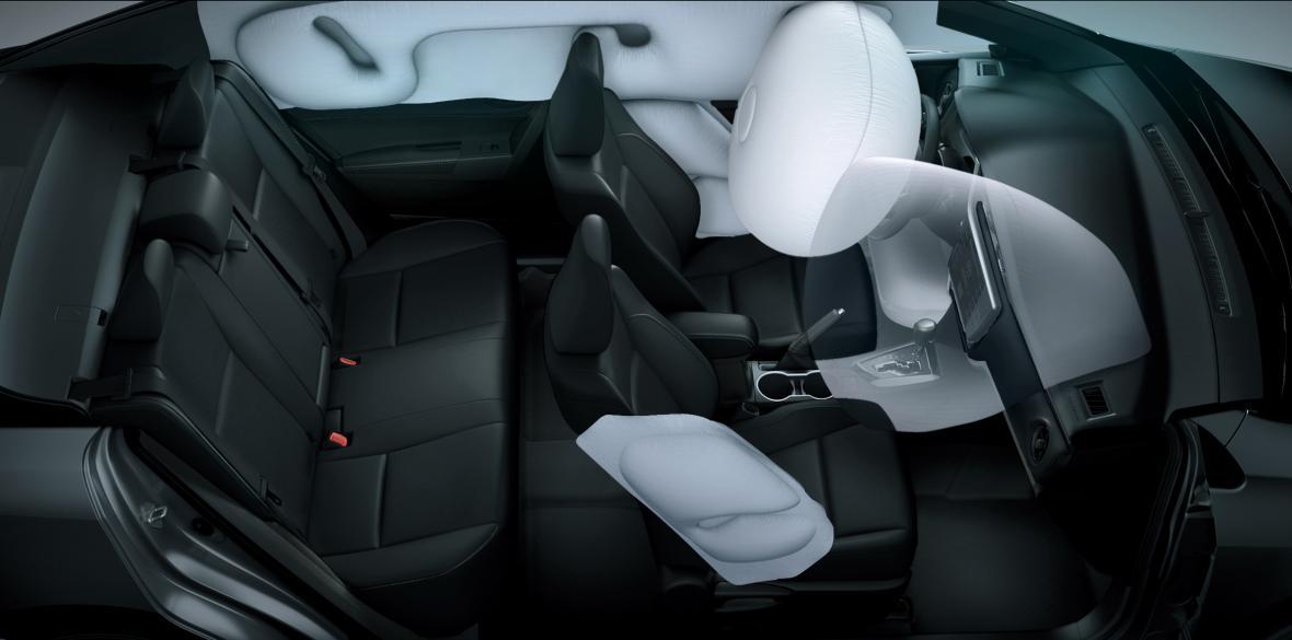 La integridad física se preserva con sus sistemas de airbag.