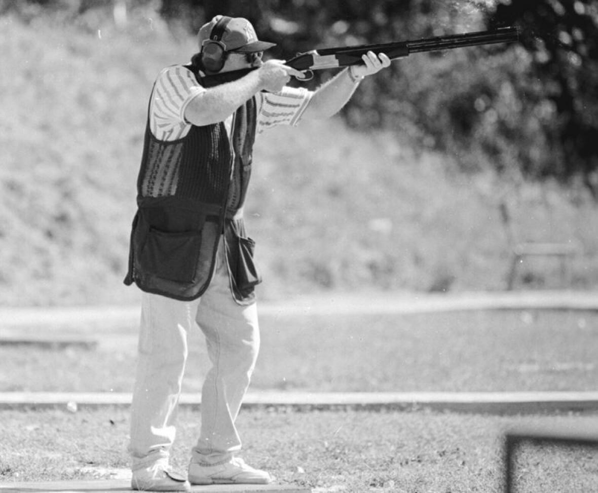 El ex tirador barranquillero Helmut Bellingrodt es uno de los deportistas más destacados de Colombia.