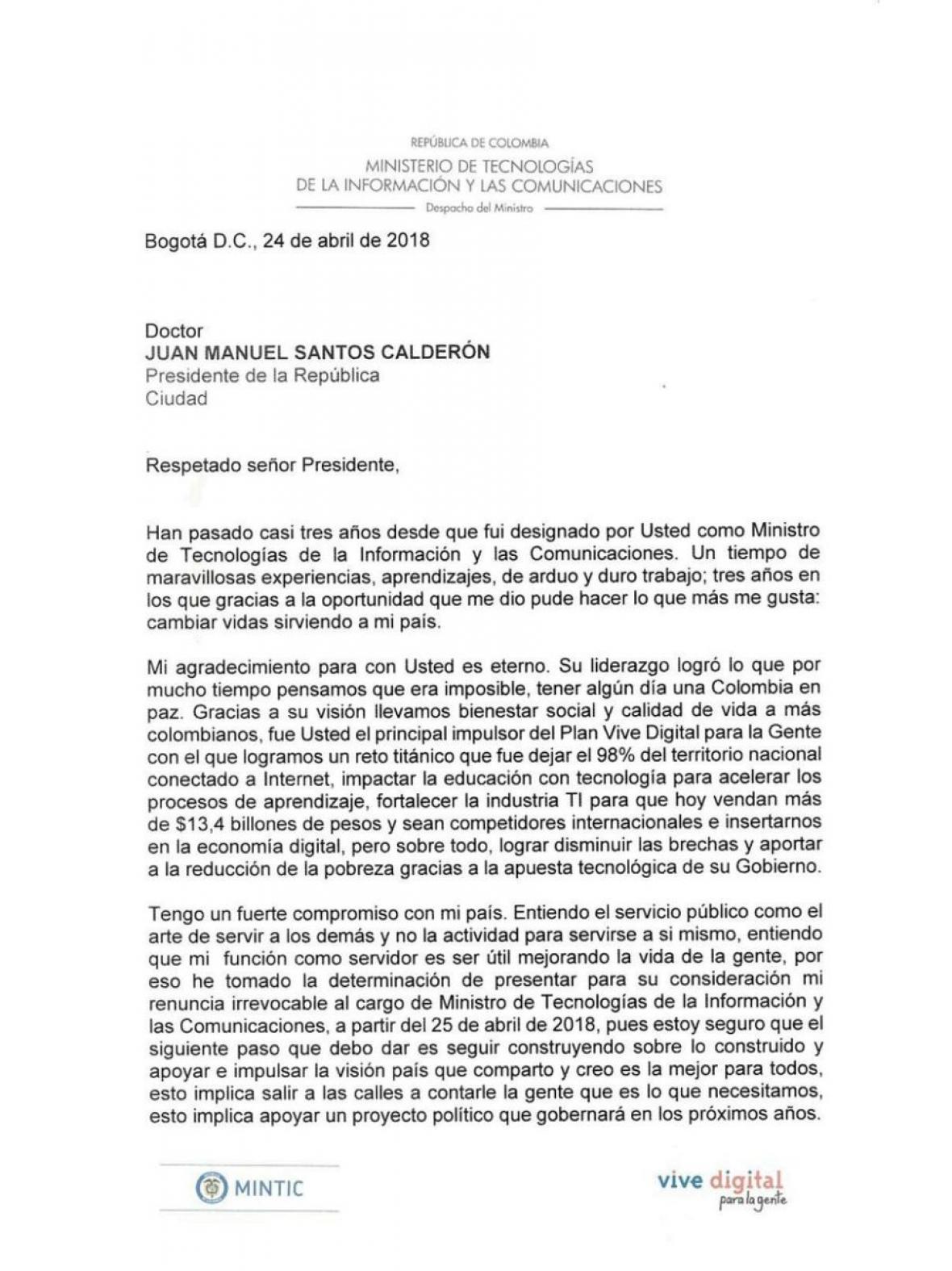 Excepcional Plantilla De Renuncia Adorno - Ejemplo De Currículum ...