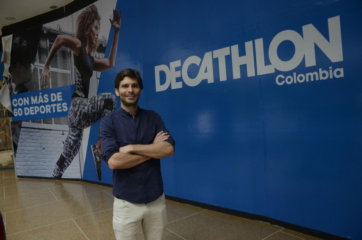 Diego Ávila, gerente de tienda en Barranquilla.