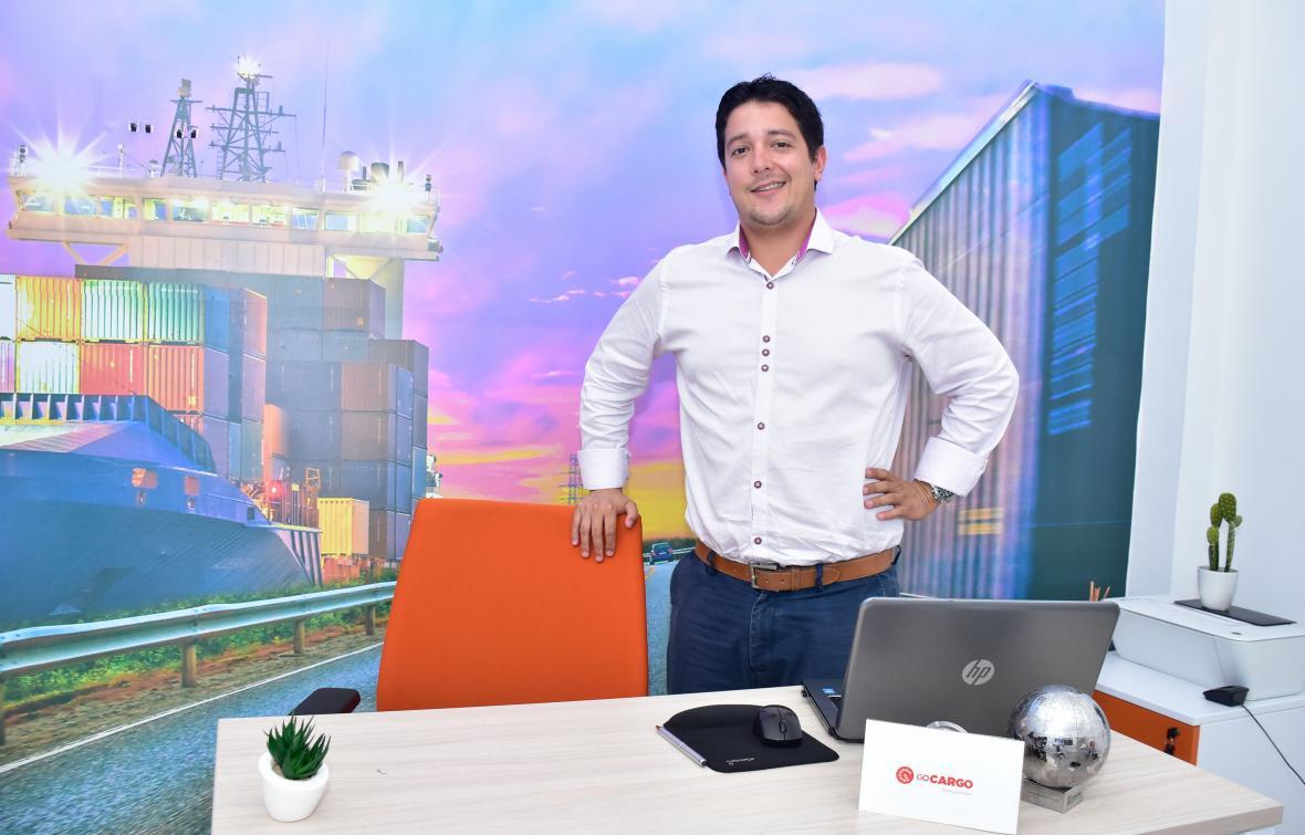 Diego De la Ossa, gerente de Co Cargo, empresa que participó en el programa de Endeavor en 2016-2017.