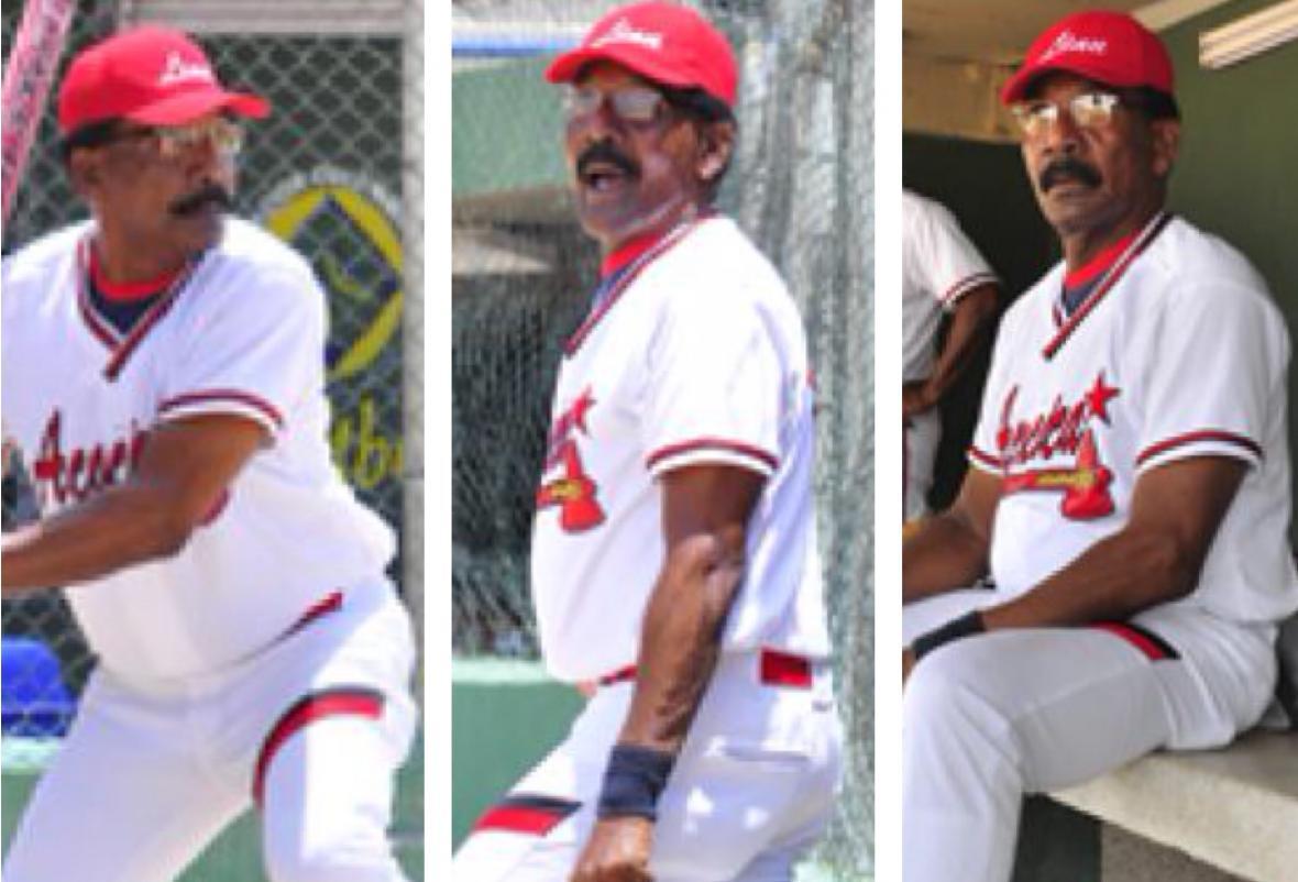 Hasta que la salud se lo permitió, Abel Leal jugó sóftbol en torneos de veteranos en Cartagena.