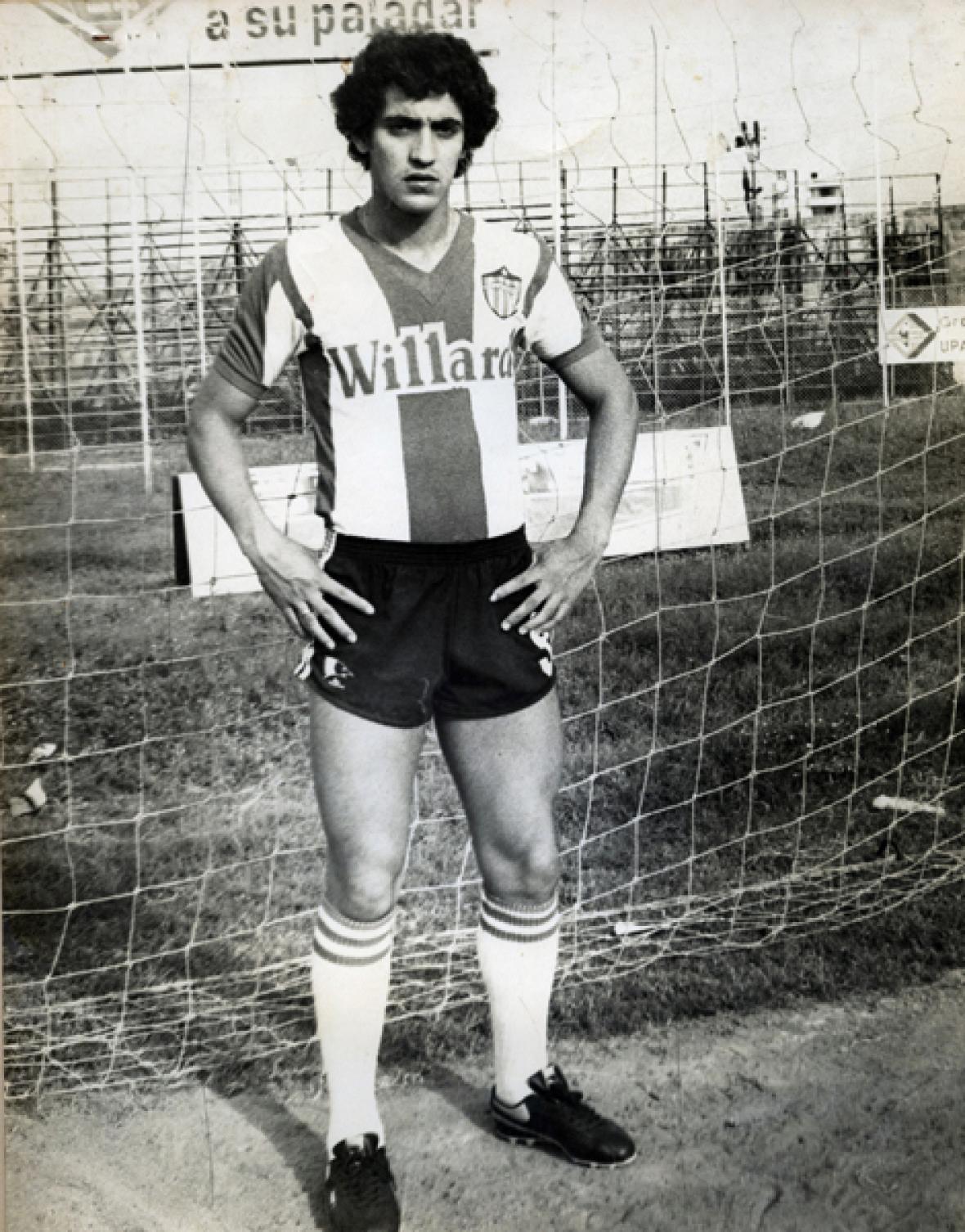 El exmediocampista uruguayo Ricardo 'Tito' Viera en su época como jugador del Junior de Barranquilla.