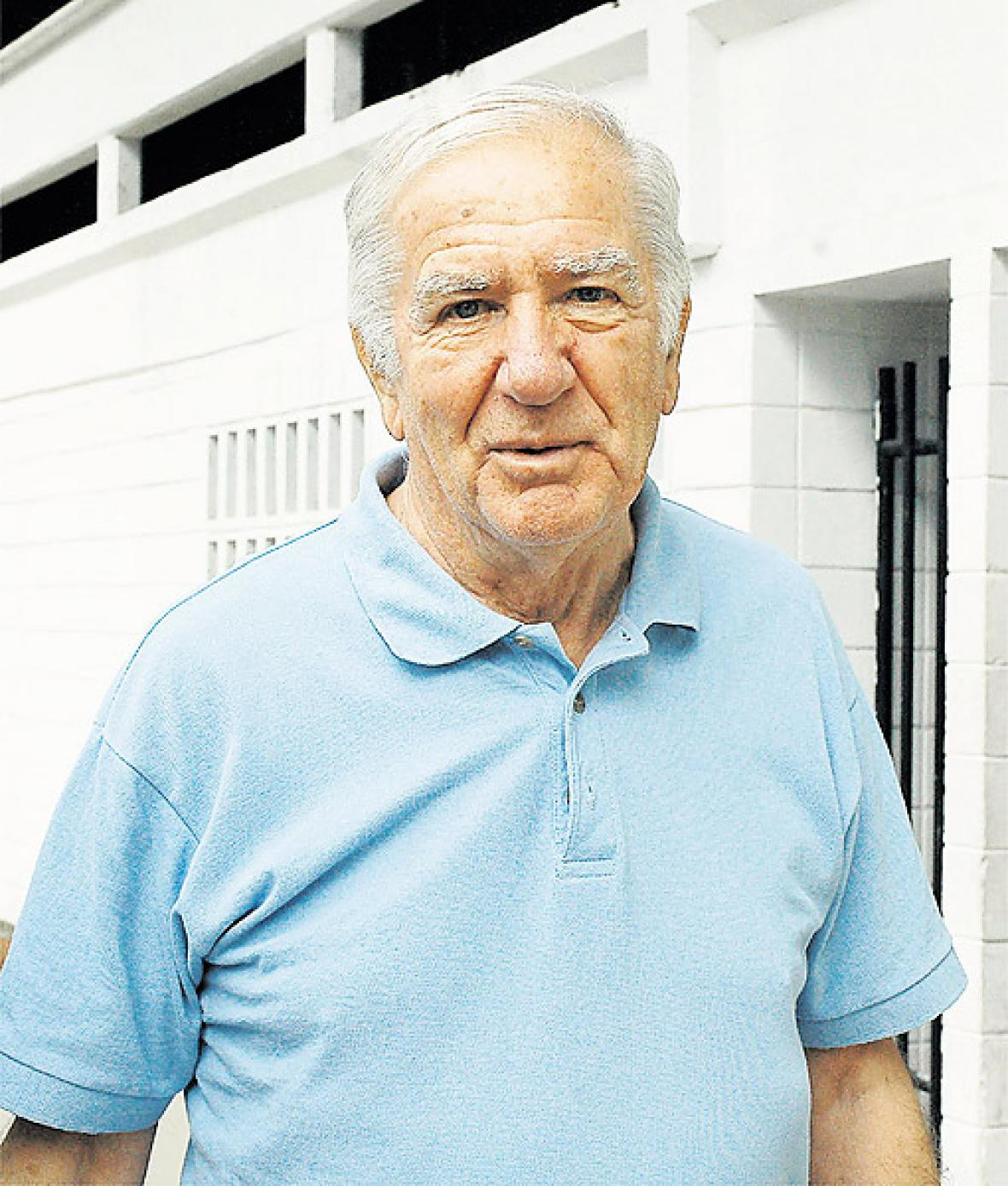 José Varacka en su última visita a Barranquilla.