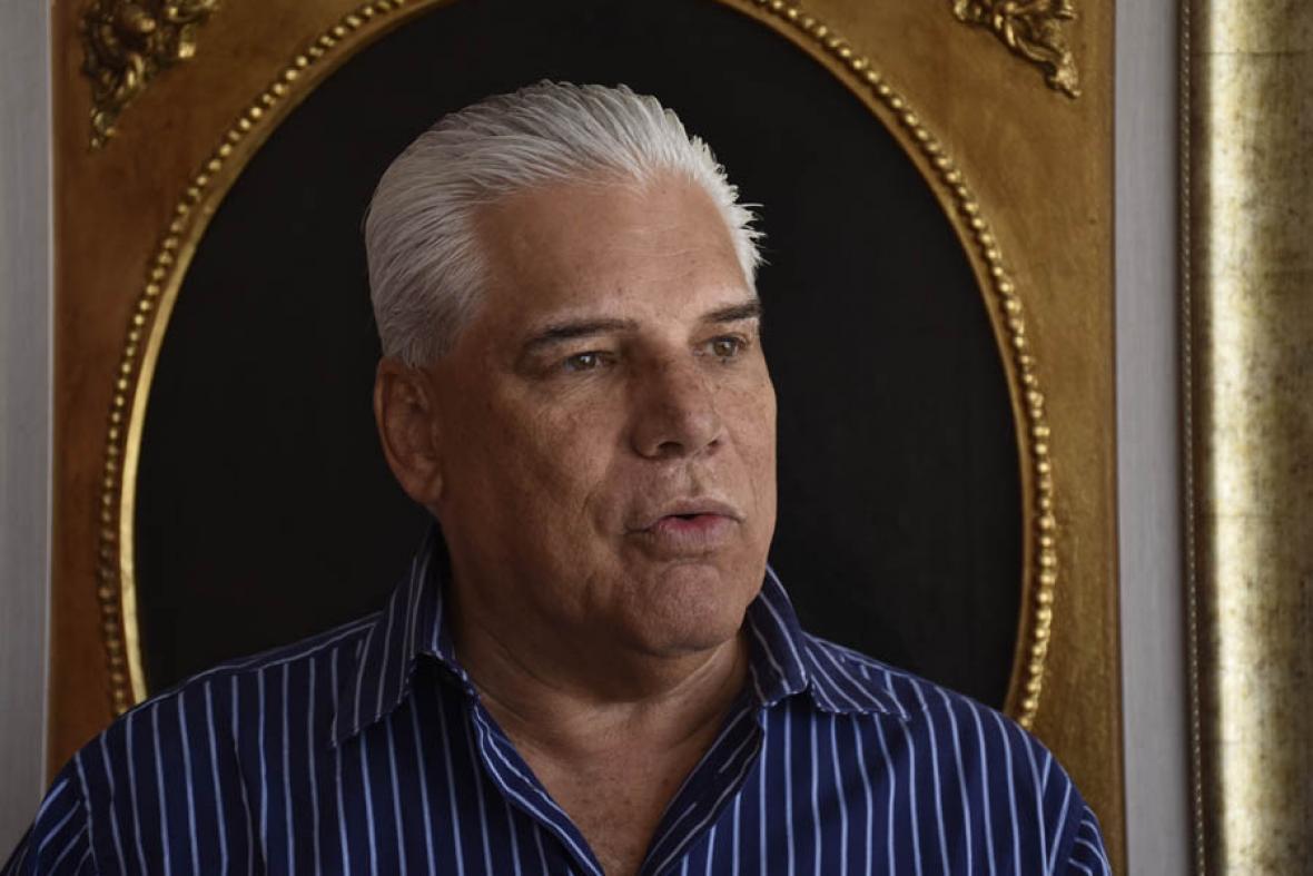 Nuevo presidente de Electricaribe, Edgardo Sojo.