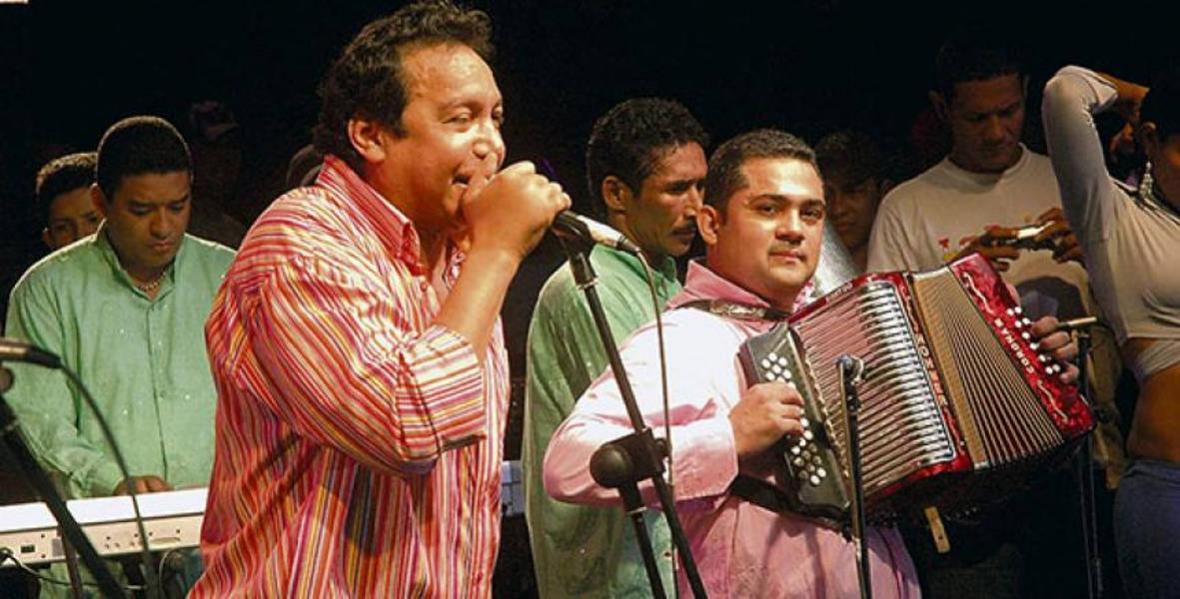 Diomedes Díaz e Iván Zuleta.