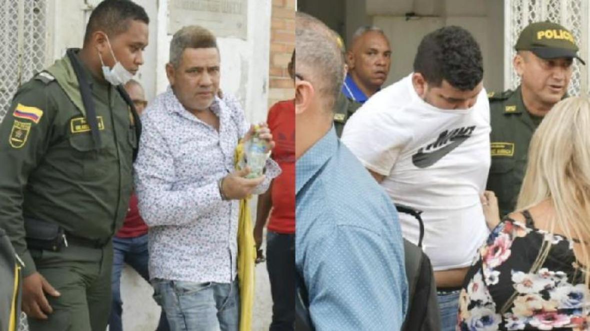 Javier Renán Pabón Vásquez y Jeffrey Madera Maldonado.
