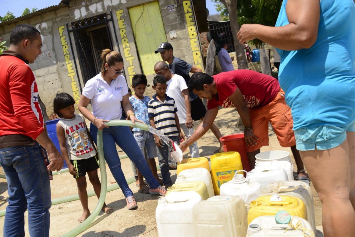 Son 90 barrios beneficiados con agua potable.