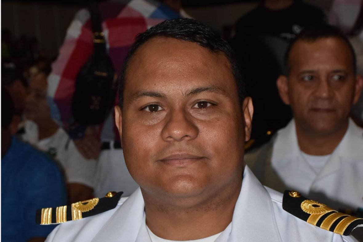 Germán Escobar, capitán Puerto de Barranquilla.