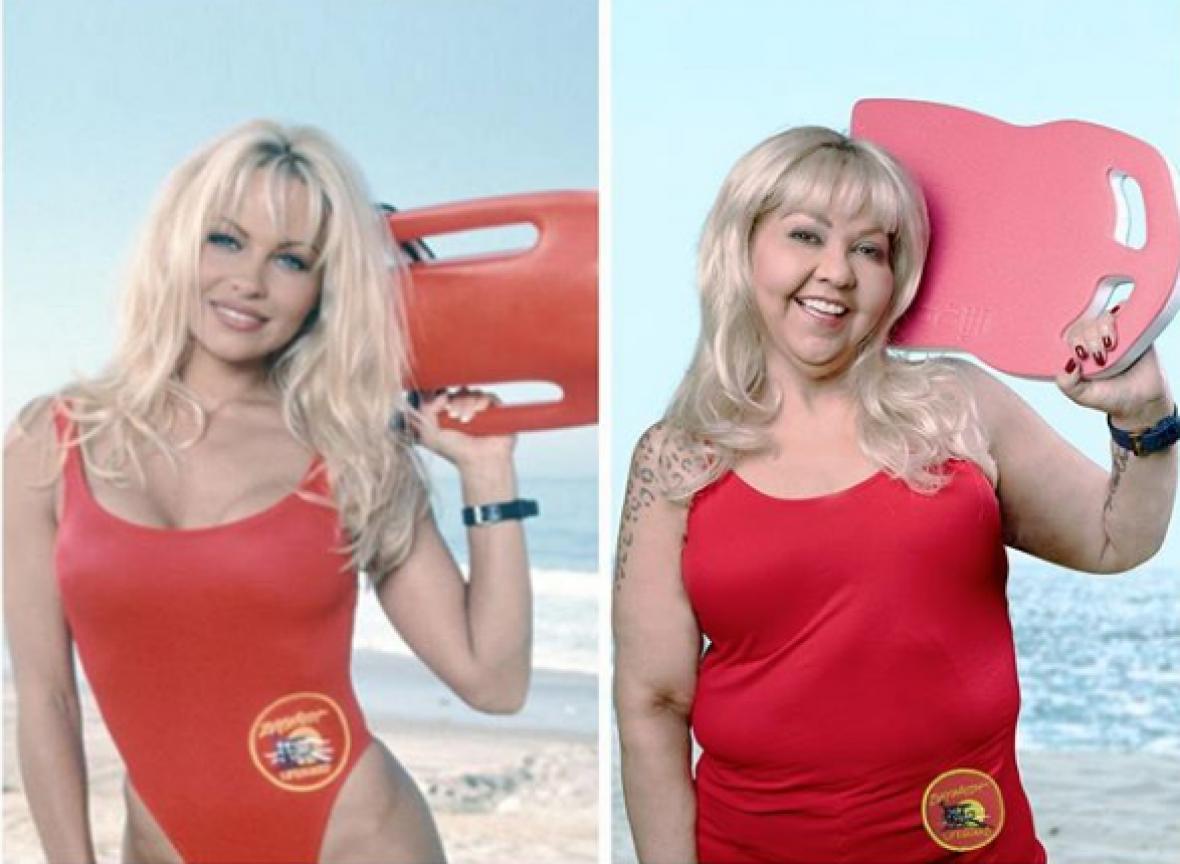 Parodiando a Pamela Denise Anderson.