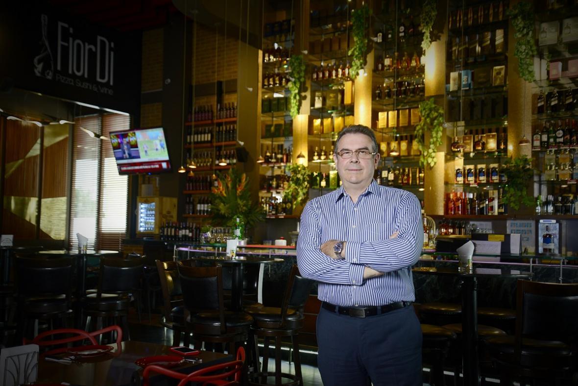 Pedro Salzedo, gerente de FiorDi
