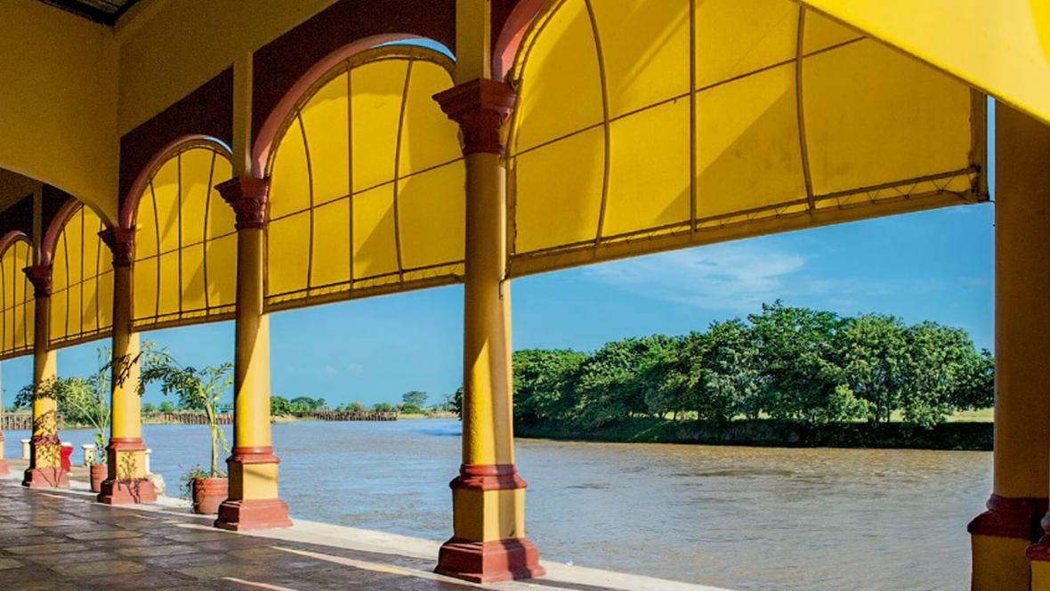 Esta es una de las estaciones de la ruta 'Las letras del Sinú - Manuel Zapata Olivella'.
