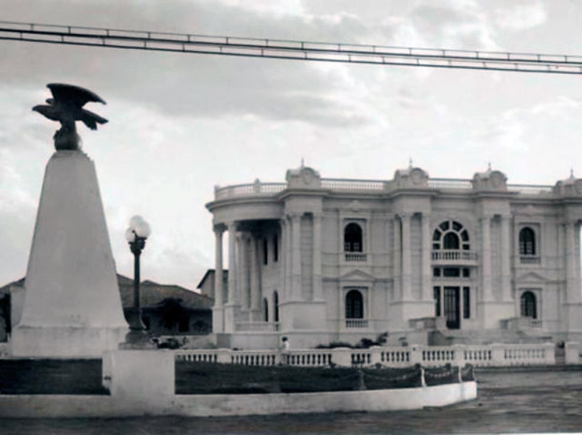 Parque Los Fundadores, antiguo bulevar central del barrio El Prado.