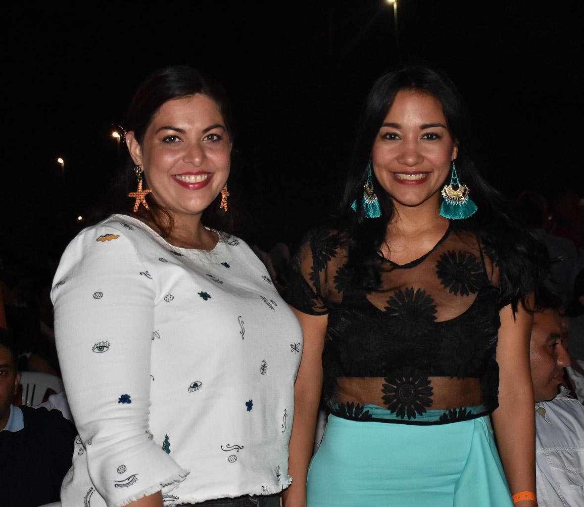 Lorena Mayans y Jacqueline Rojas Solano.