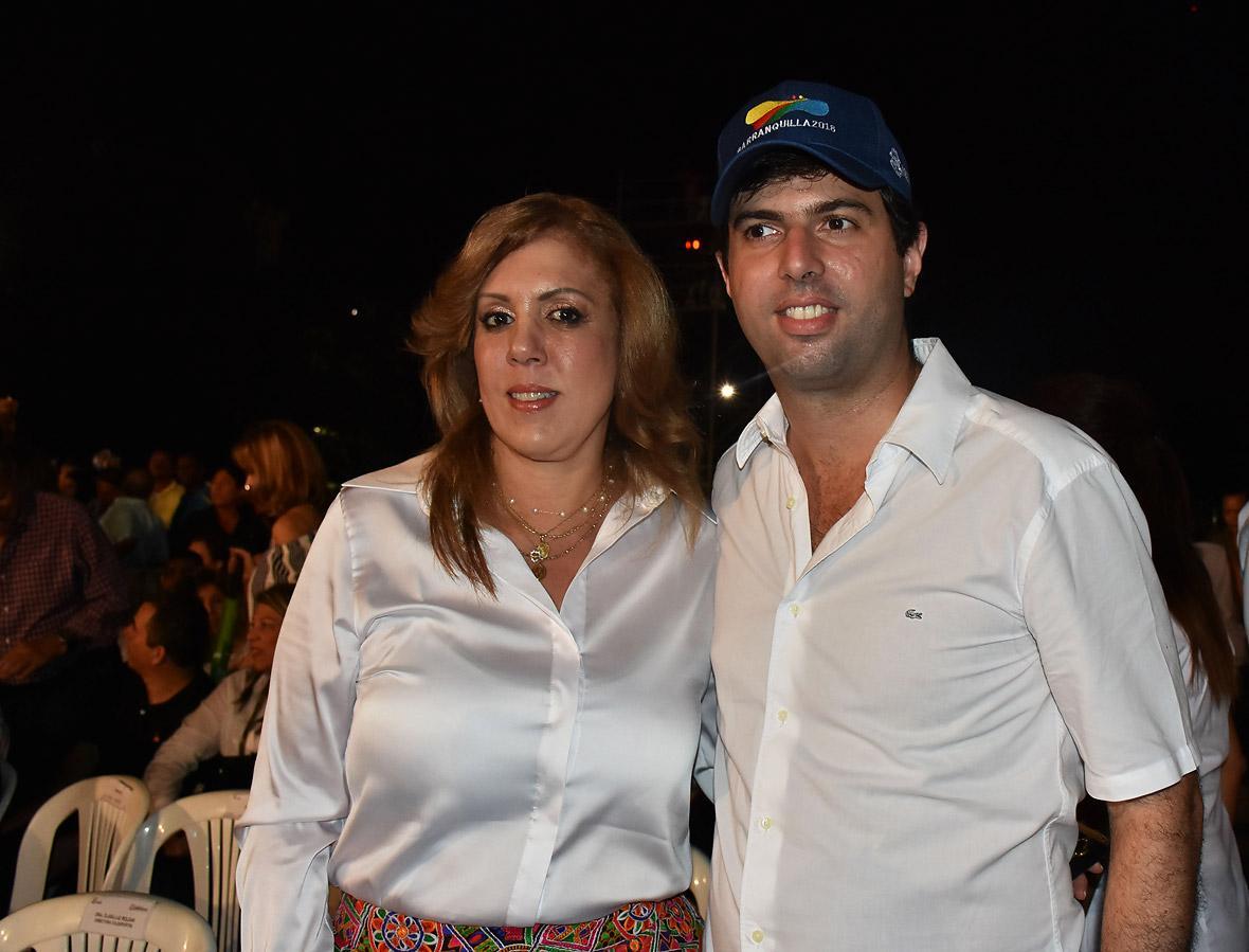 Clara Luz Roldán y Daniel Noguera.