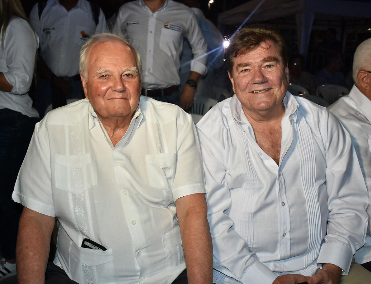 Steve Stoute y Helmut Bellingrodt.