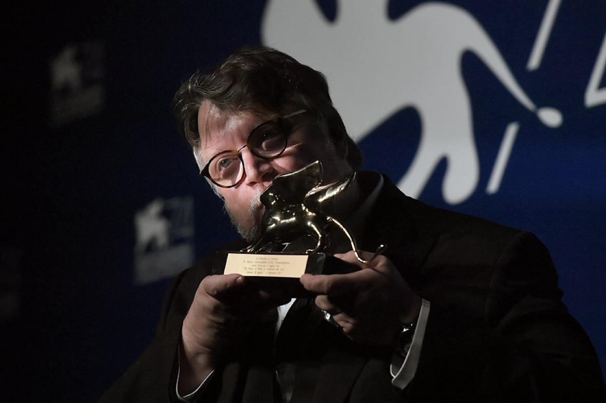 """El mexicano Guillermo del Toro, director de """"La forma del agua""""."""