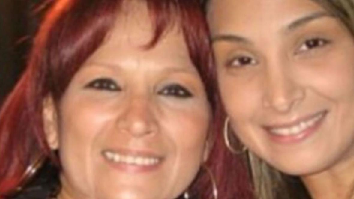 Así lucen en la actualidad Judith Vásquez y su hija Cristina.