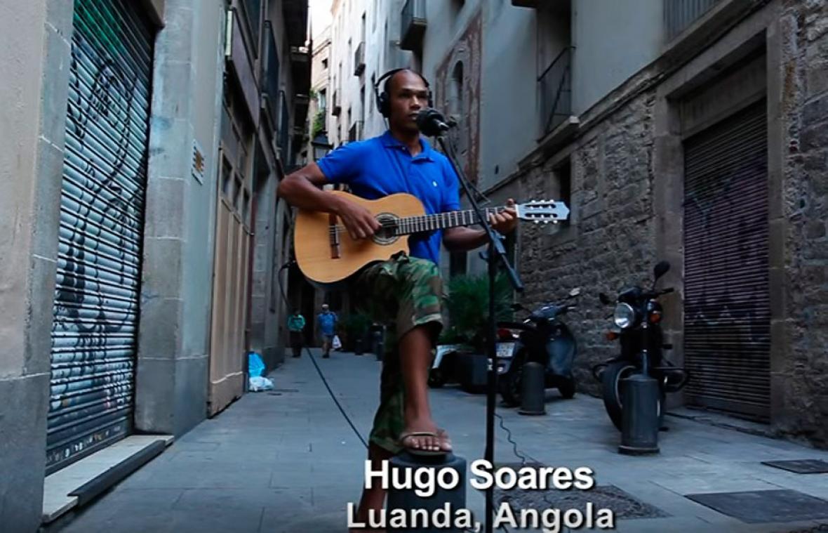 Captura del video oficial de la canción Pemba Laka.