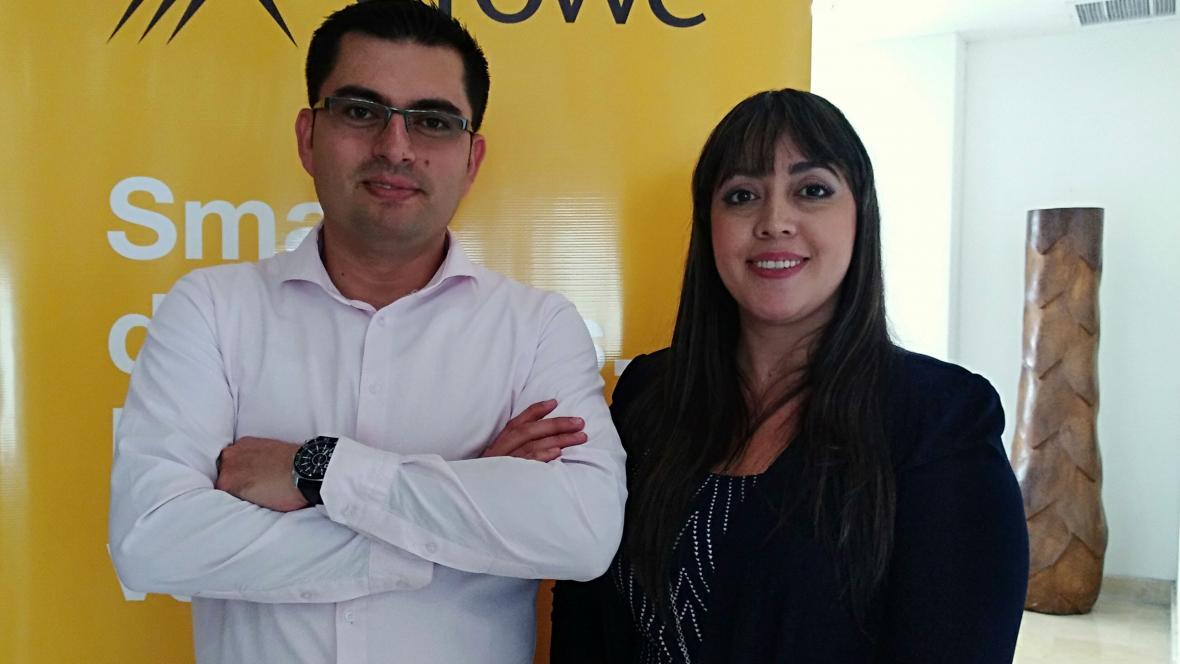 Iván Muñoz Torres y Tatiana Atehortúa Rojas.