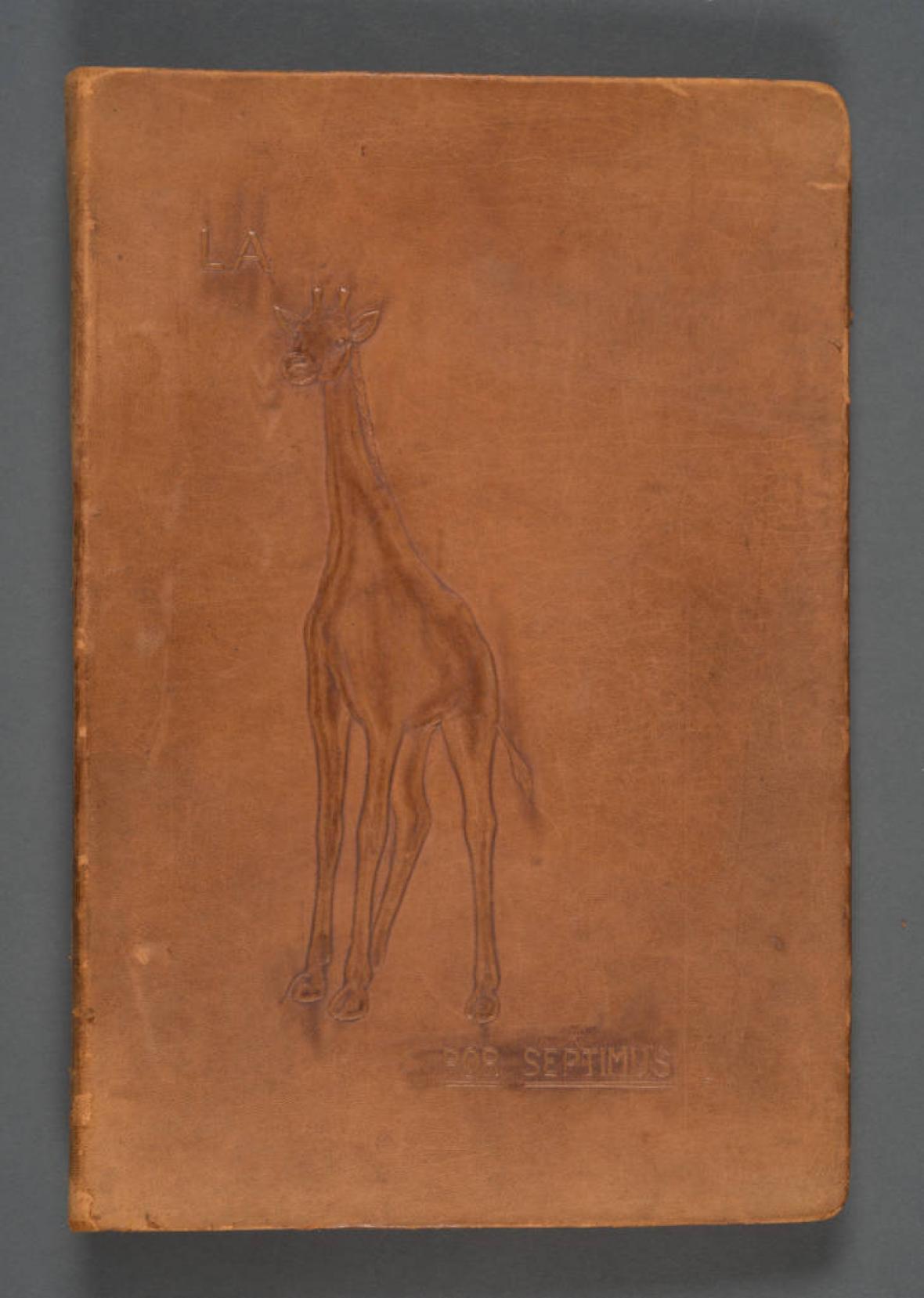 La Jirafa, por 'Septimus' (álbum de recortes).