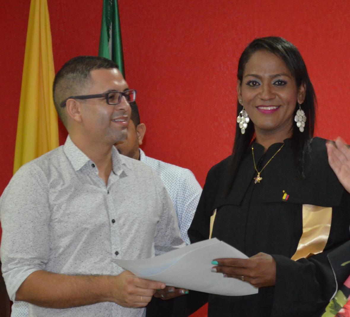 Juan Salas Zabaleta coordinador de Sucre diversa y Valeria.