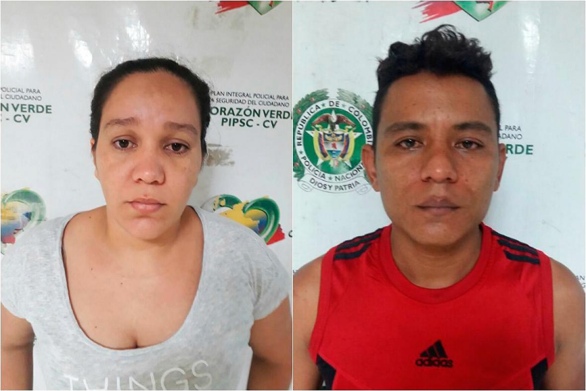 Lilibeth Hurtado Colina y Jorge Robledo Martínez.