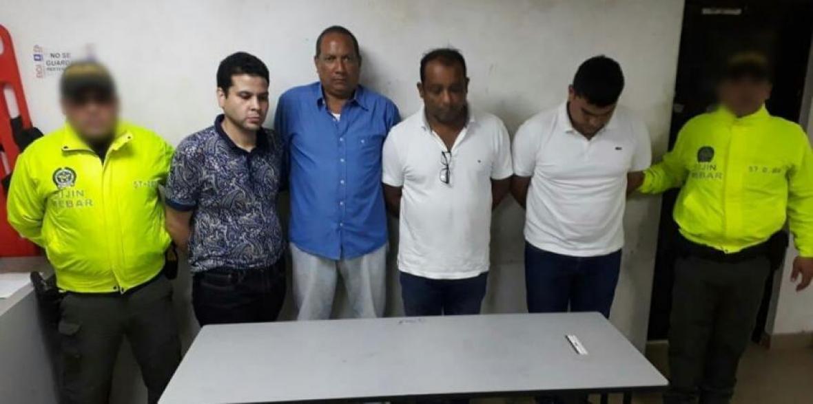 Cuatro personas fueron capturadas el año pasado.