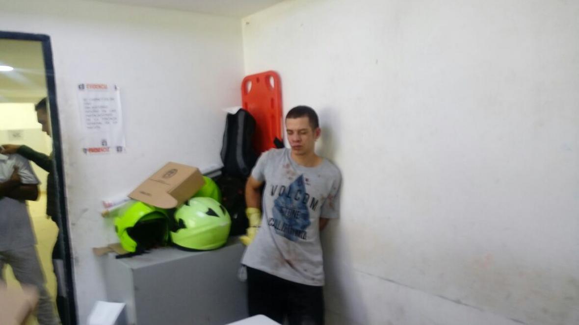 El sospechoso fue identificado como Kévin López.