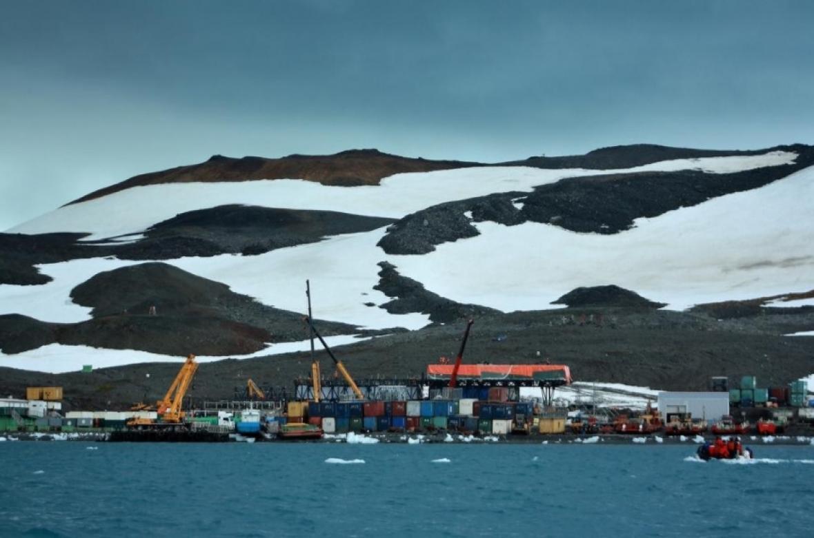 La Antártida donde se ubicaría una base científica colombiana.
