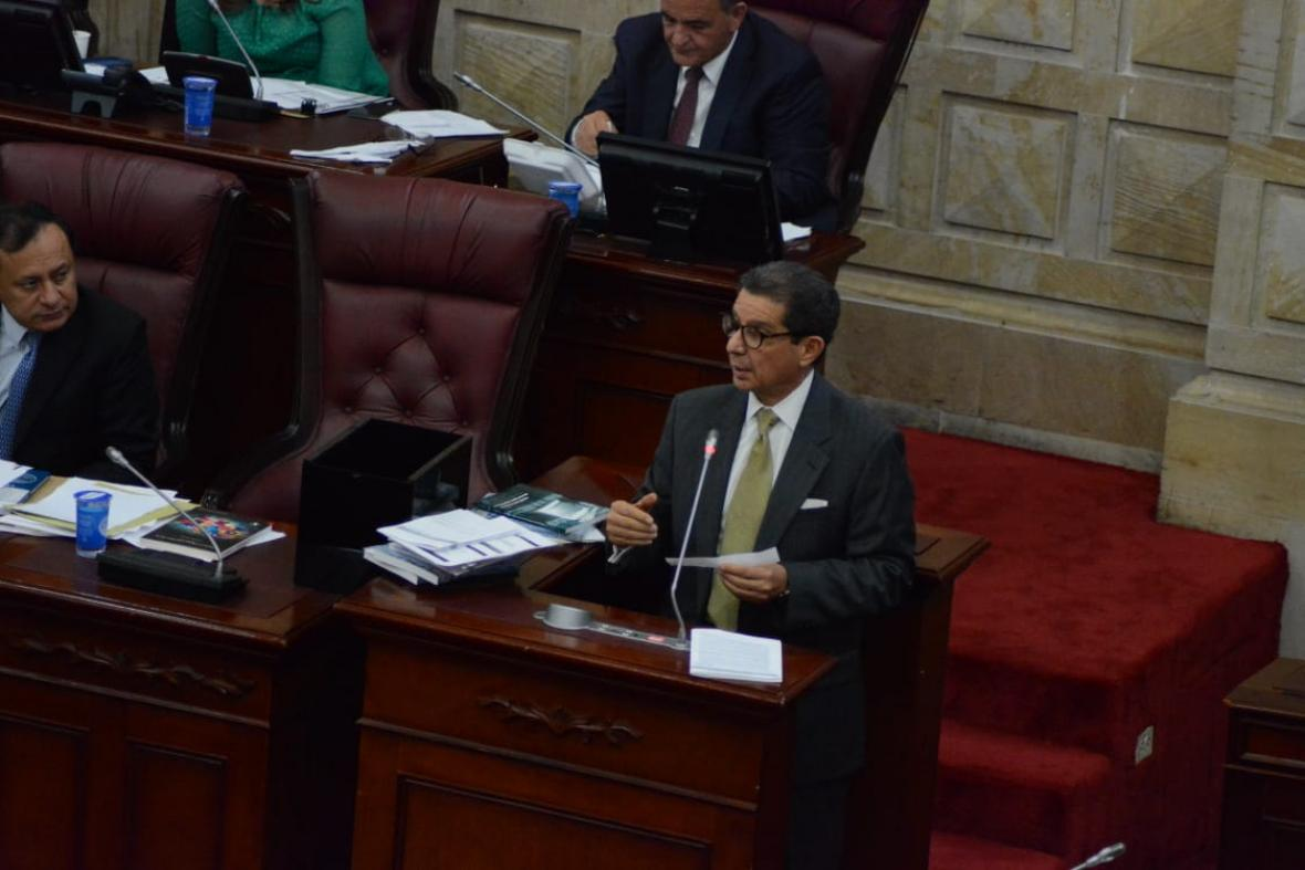 José Félix Lafaurie, presidente de Fedegan y aspirante a contralor general.