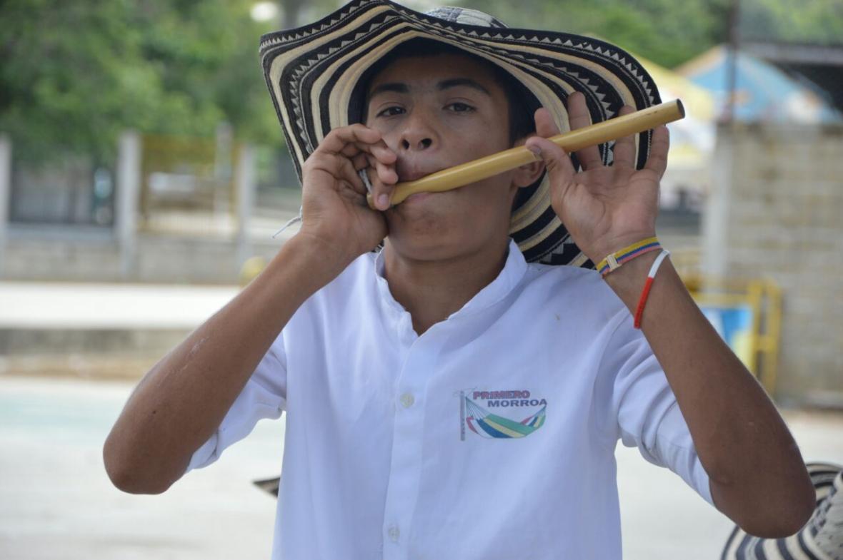 Los piteros jóvenes y adultos se gozaron el festival.