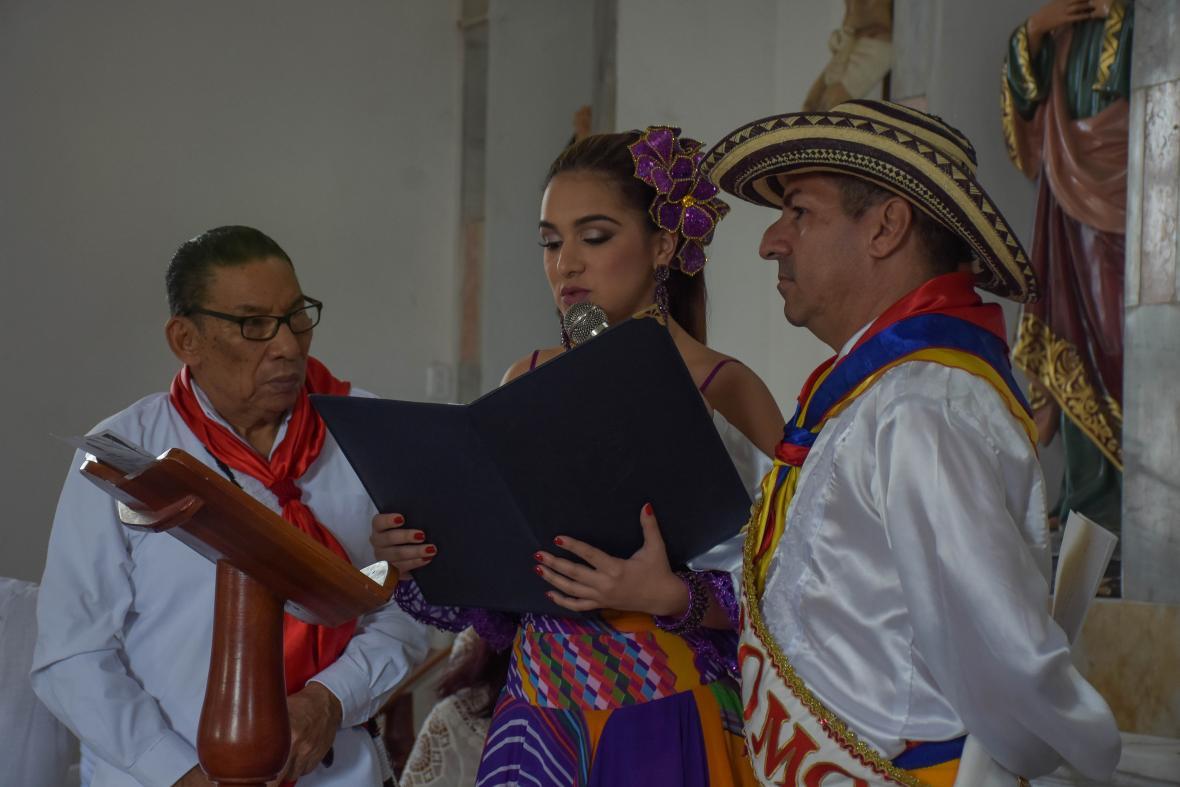 Pedro Ramayá, Valeria Abuchaibe y Ricardo Sierra.