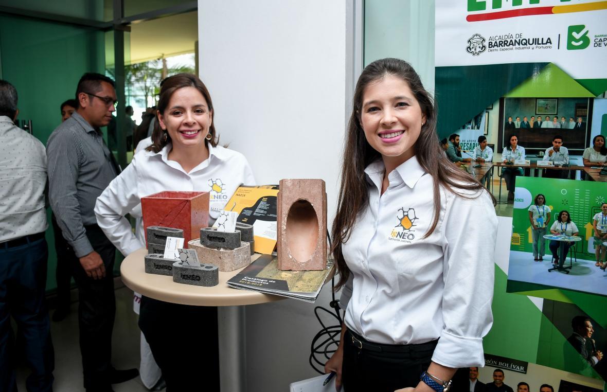 María Fernanda Vargas y Sara Zapata,  representantes de Igneo.