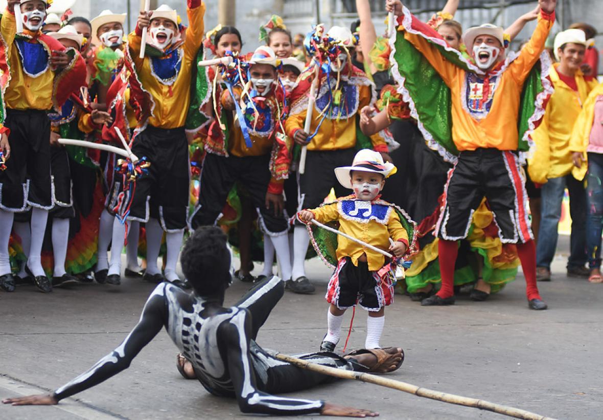 Carnaval de Barranquilla en Medellin