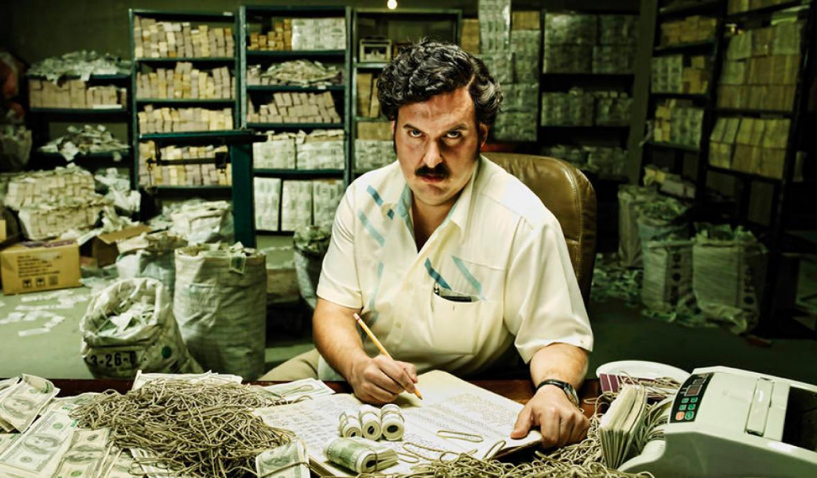 Imagen de la producción sobre el narcotraficante Pablo Escobar, 'El Patrón del Mal', estrenada en 2012.