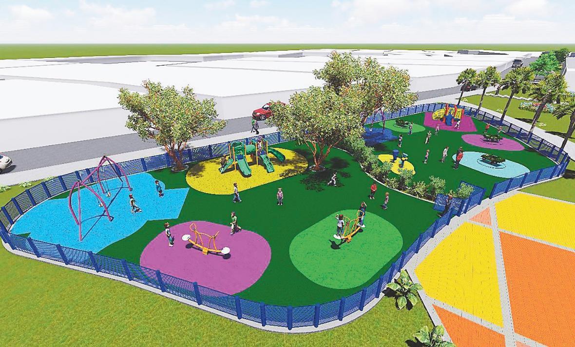 Los 15 parques que estrenar barranquilla el heraldo for Para desarrollar un parque ajardinado