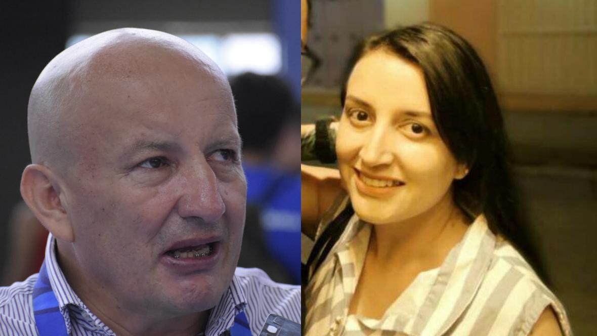 William Peña  y Andrea Peña