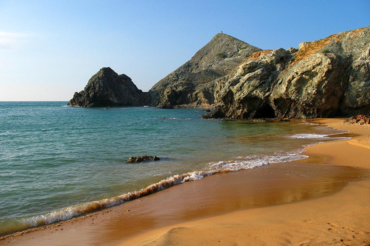 La playa del Pilón de Azúcar.