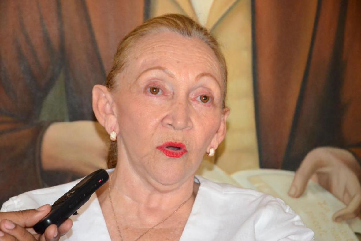 Profesora Mary Blanco Ariza