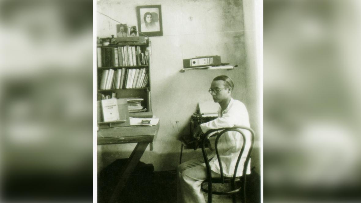Rómulo Betancourt durante su exilio en Barranquilla.
