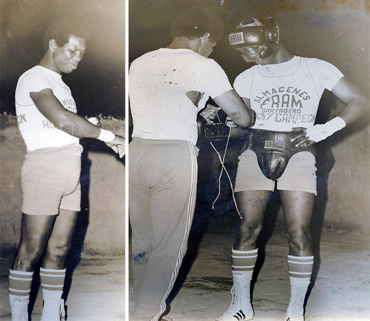 Rocky Valdés en 1976.