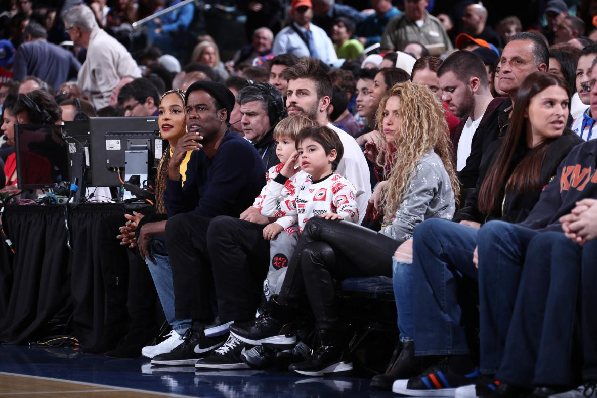 Shakira y Piqué, de vacaciones en New York por Navidad