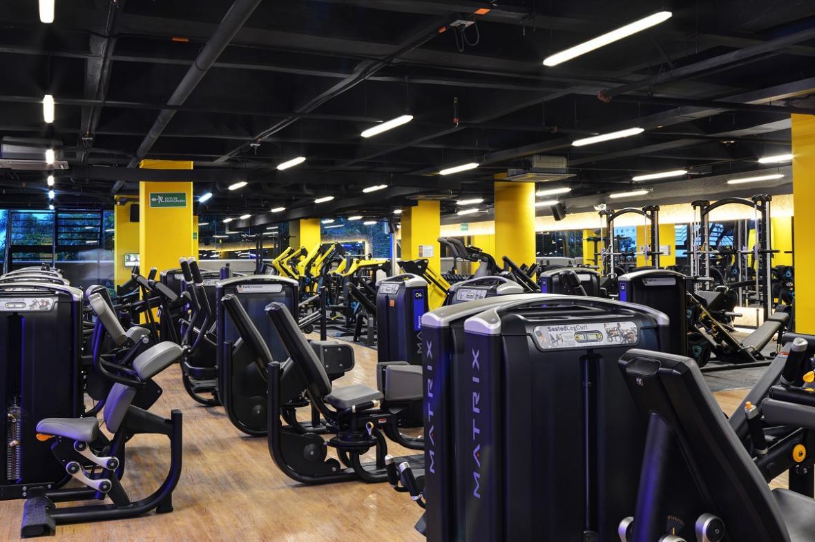Sede del gimnasio Smart Fit en Colombia.