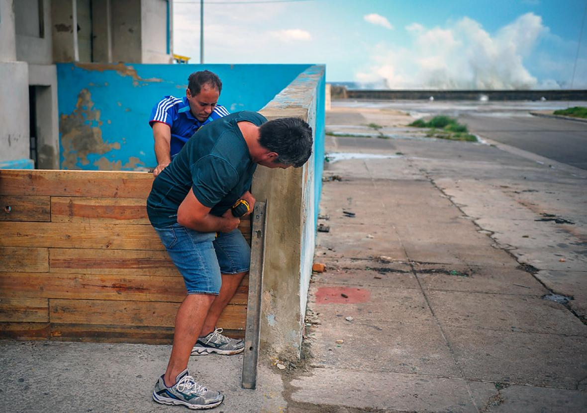 Así azota Cuba el huracán Irma — VENEZUELA