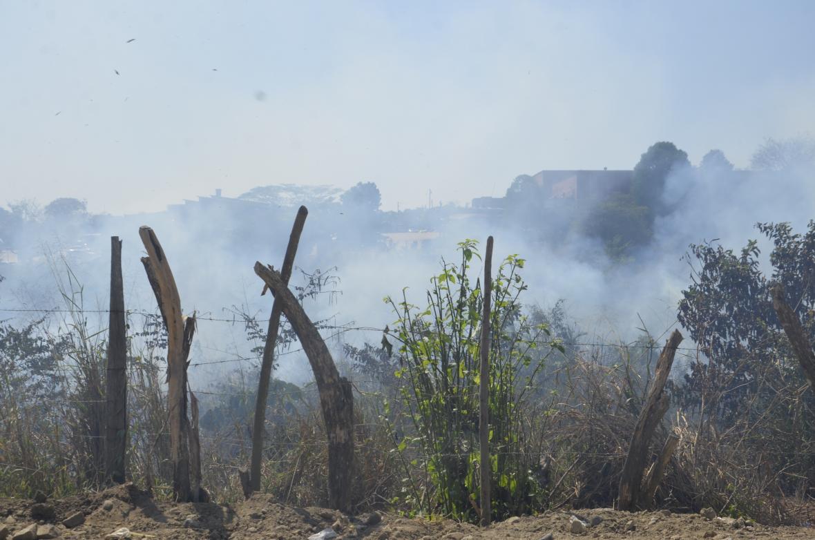 Municipios en alerta por incendios.