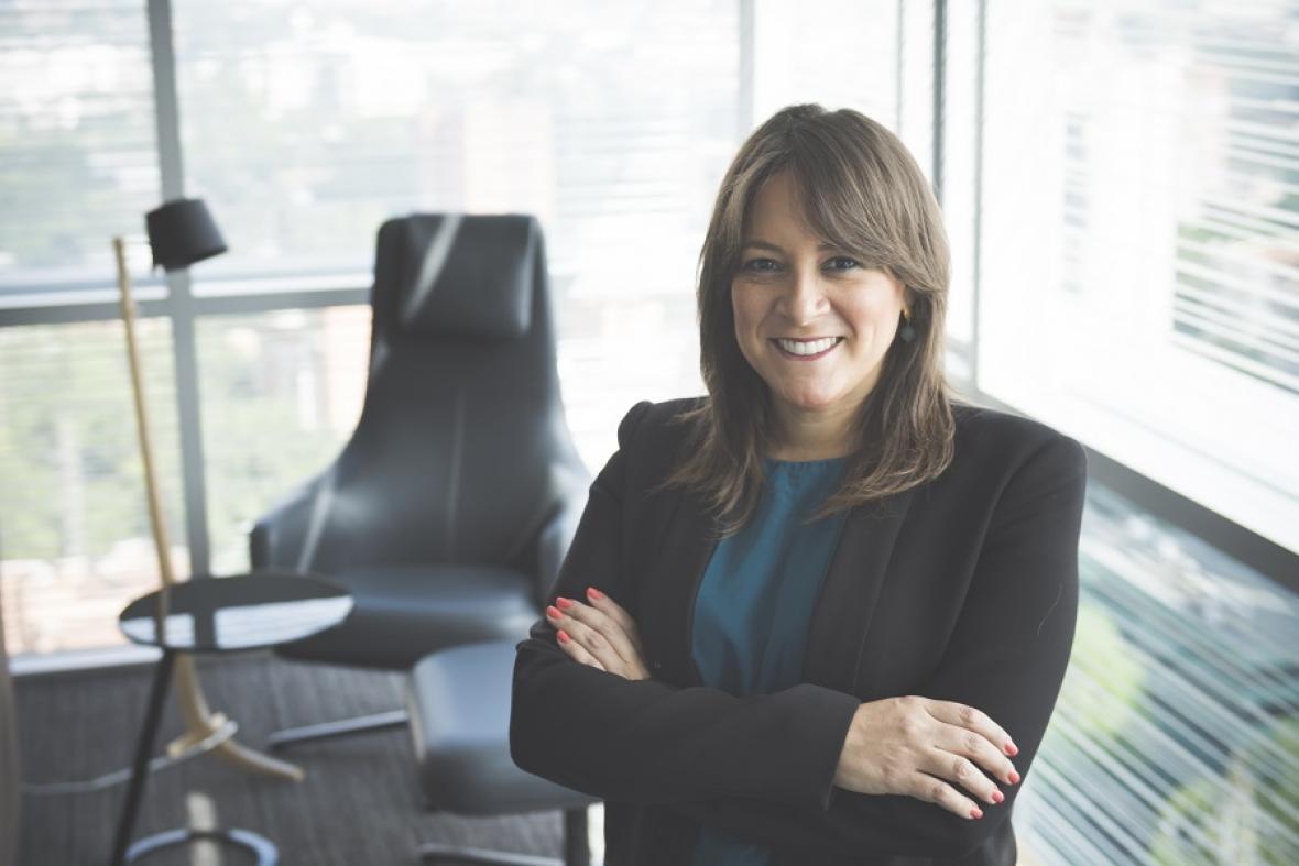 Tatyana Orozco, vicepresidente de asuntos corporativos del Grupo Sura.