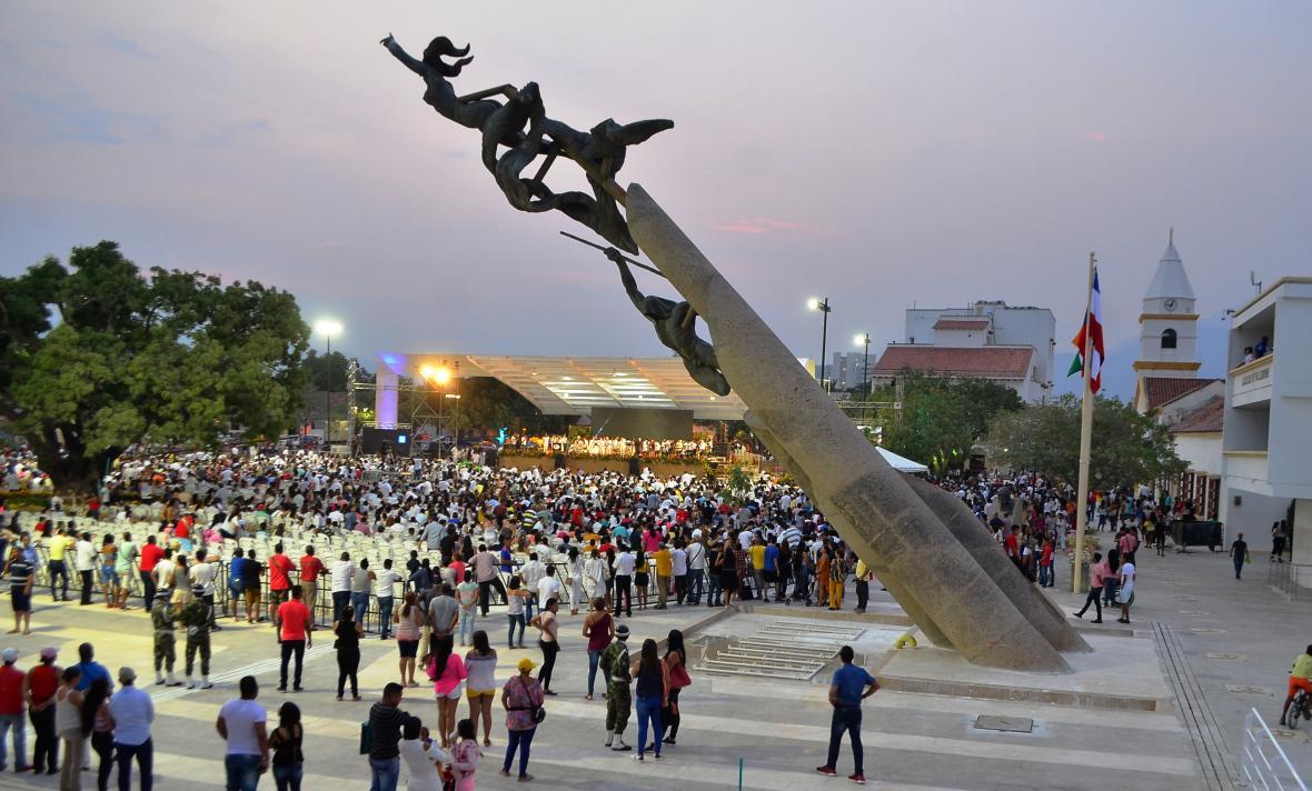 Valledupar plaza alfonso lopez