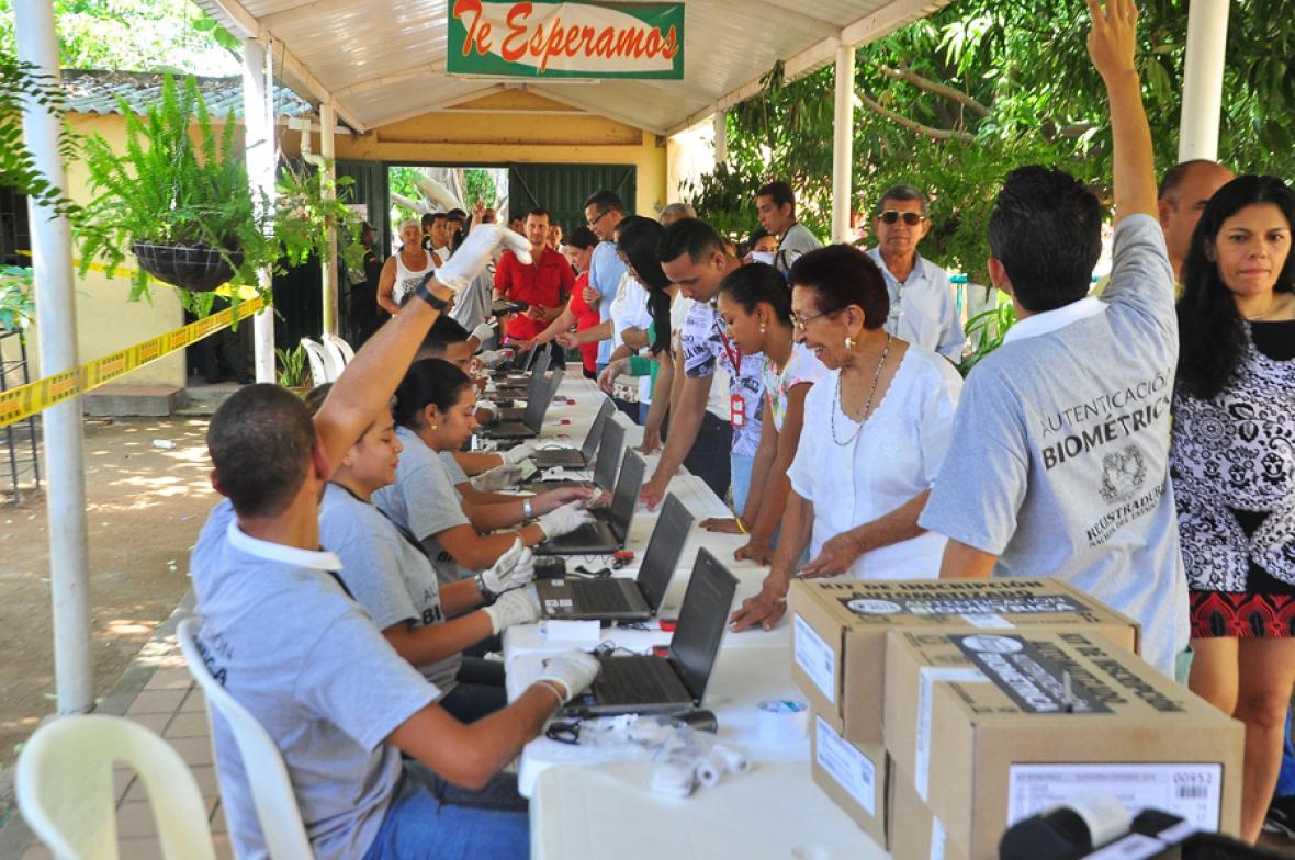 Valledupar también reportó tranquilidad a lo largo de las elecciones.