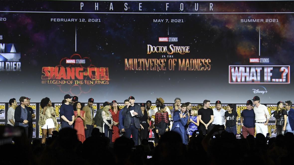 Panel de Marvel en Comic Con 2019.